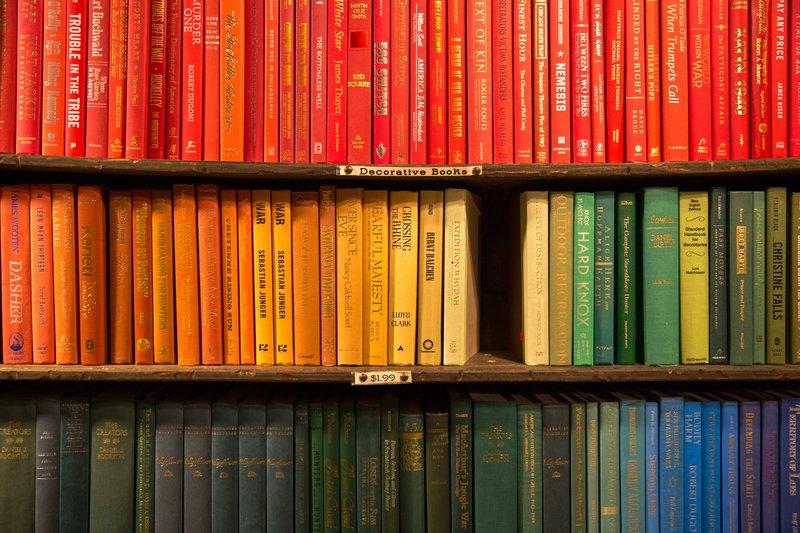 colourful exam books
